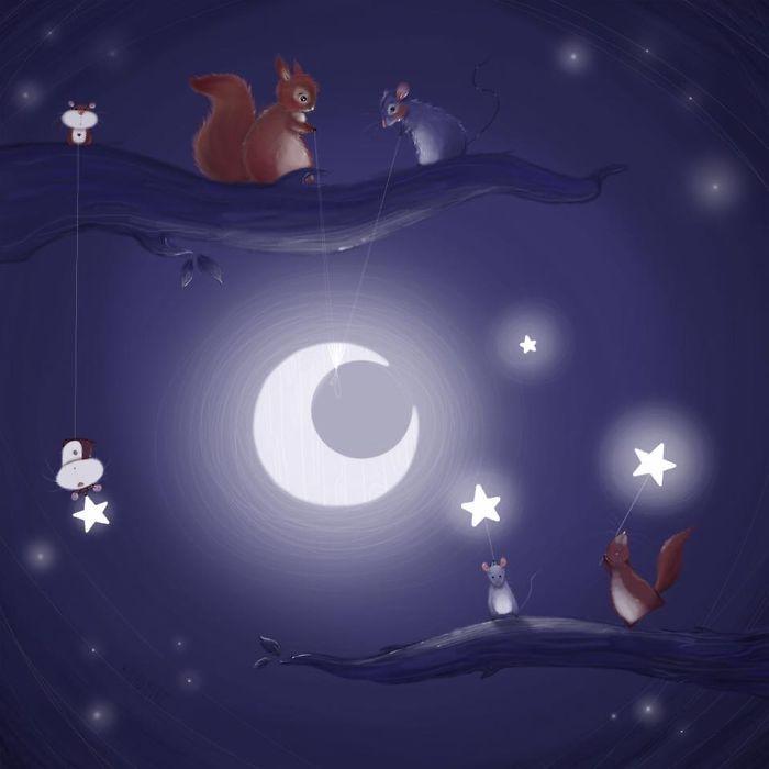 Comment dessiner un chien idée dessin de chien facile image dessin mignon nuit