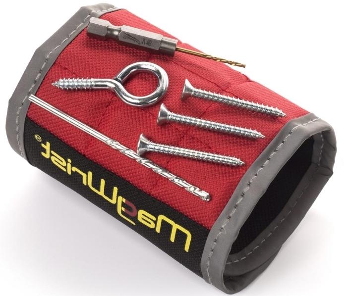 modèle de bracelet magnétique pour vis et clous comme un accessoire pratique pour homme bricoleur