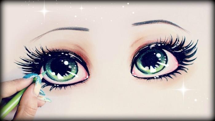 Coloriage yeux kawaii dessin minion belle image à copier de la page adorable dessin