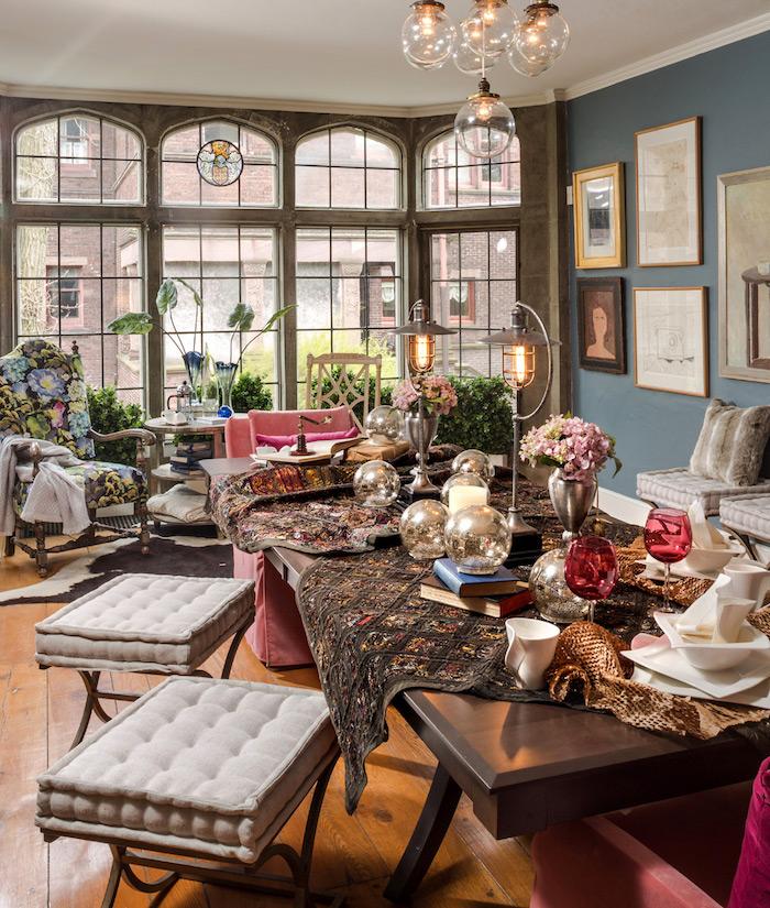 Salon sejour amenager petit salon décoration intérieure salon idée déco simple appartement déco bohème chic