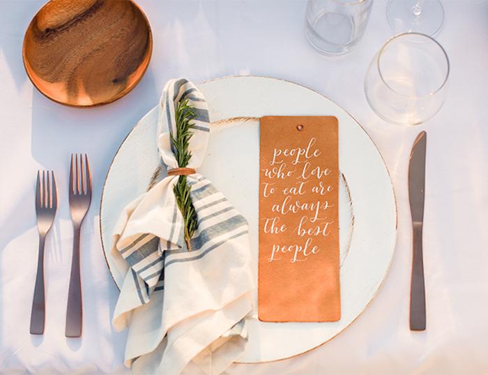 Décoration de table mariage menu mariage décoration cérémonie laique