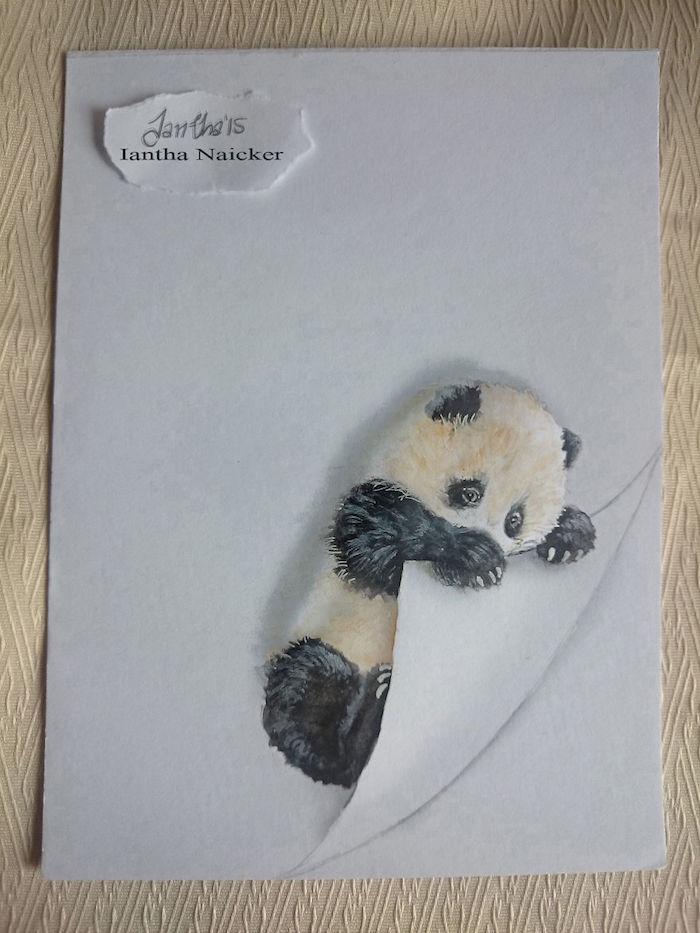 Dessin cute dessin ananas chouette idée dessin ado simple fille dessiner panda adorable