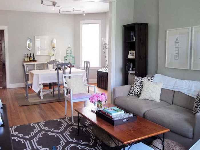 Deco moderne salon sejour salle à manger ouverte cool décoration à faire