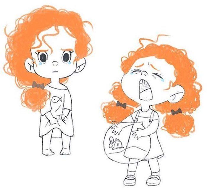 Idée dessin facile a faire etape par etape beaux animaux mignons idée pour les enfants fille za dessiner