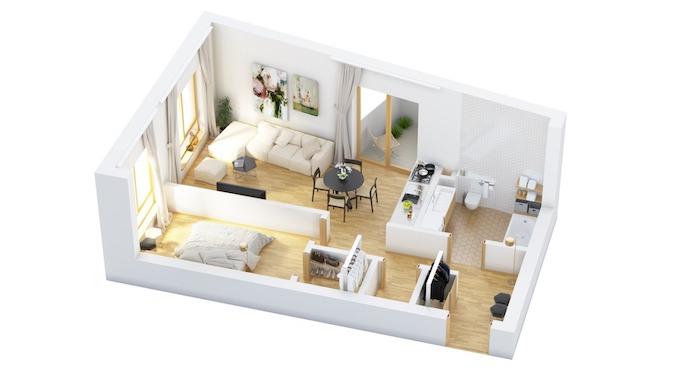 Décoration appartement étudiant idée déco appartement deco appartement plan