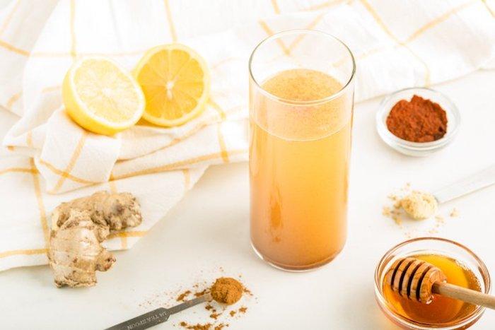 Infusion detox boisson chouette détox citron une boisson detox ventre plat manger saine et vivre bien