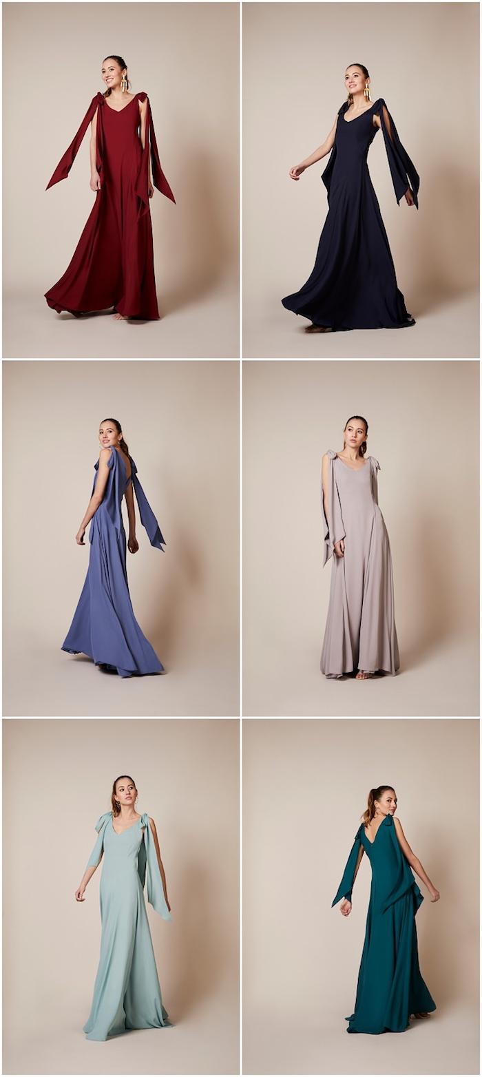 Robe pour invité mariage simple et chic tenue mariage comment s'habiller robe differentes couleurs