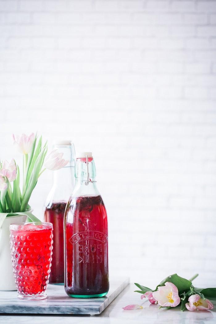 Une chouette boisson detox maison idee boisson drainaflore bio boisson détox super diet
