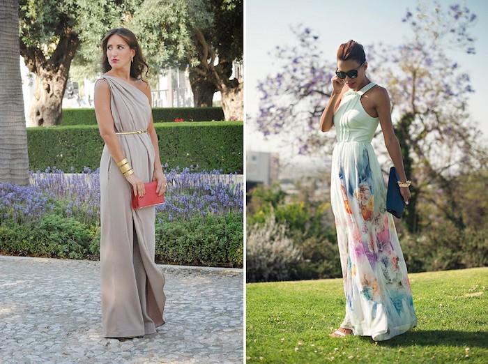 Être une femme bien habillée pour toute occasion spéciale comme le mariage robe longue élégante