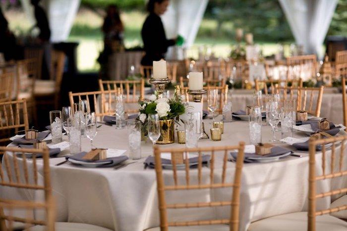 Décoration de table pas cher menu mariage photo de mariage réel