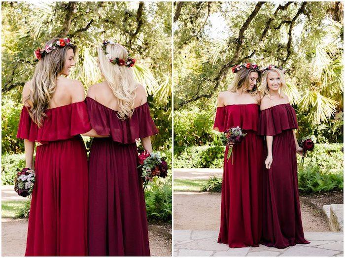 Magnifique idеe tenue habillée pour mariage savoir comment s'habiller rouge robe stylee