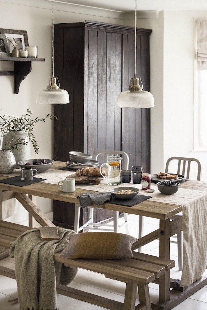 Déco salon salle à manger idée déco salon moderne jolie décoration rustique salle à manger originale déco