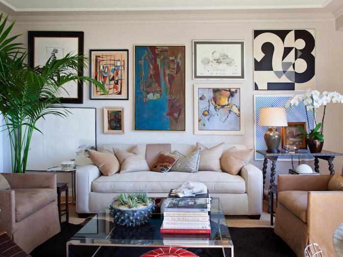 Appartement moderne idée déco appartement décoration style scandinave belle deco salon