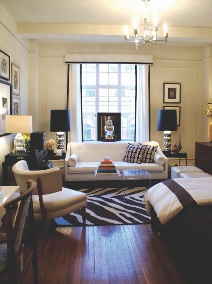 Idée aménagement studio 20m2 idée déco appartement chambre moderne