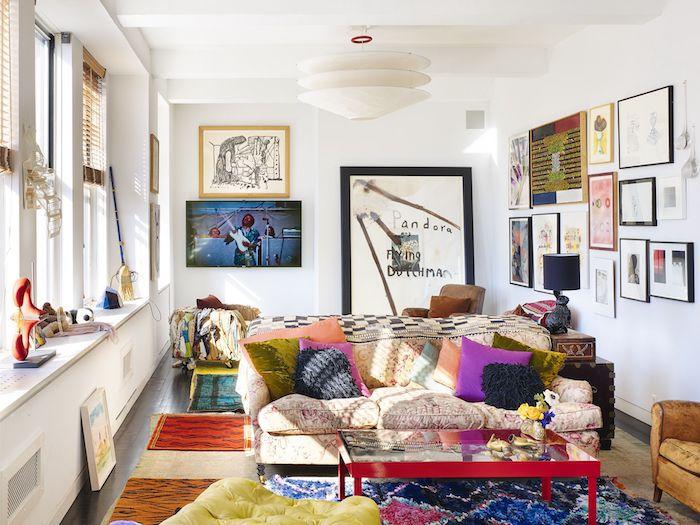 Aménagement petit studio idée déco appartement deco petit appartement salon art