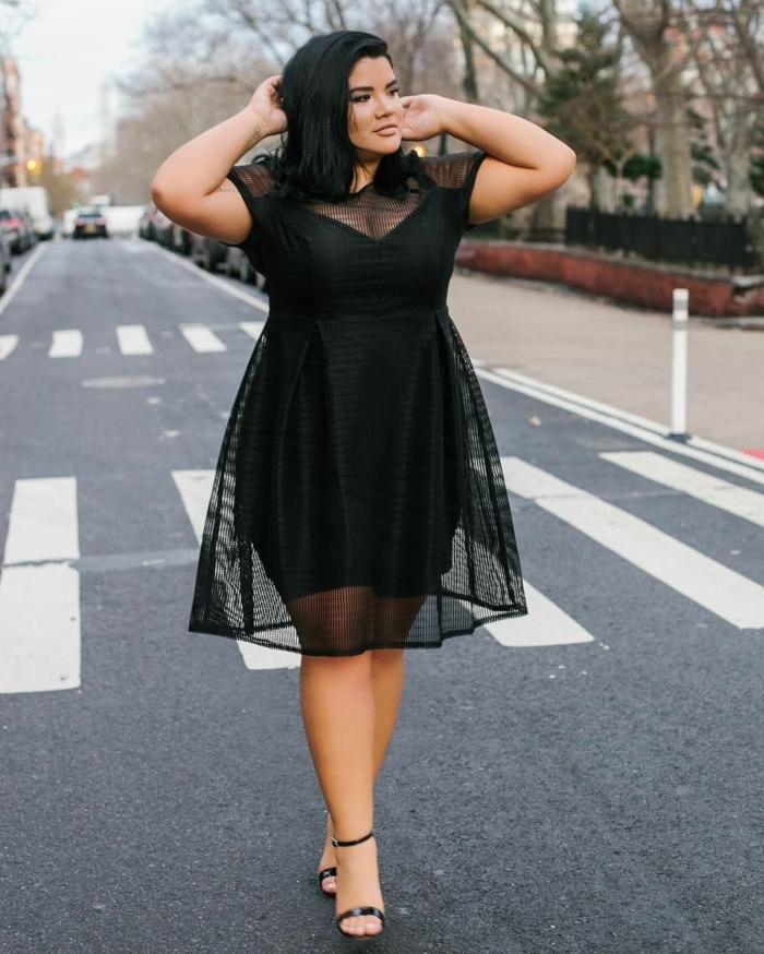 1001 versions de la robe femme ronde les coupes sexy. Black Bedroom Furniture Sets. Home Design Ideas
