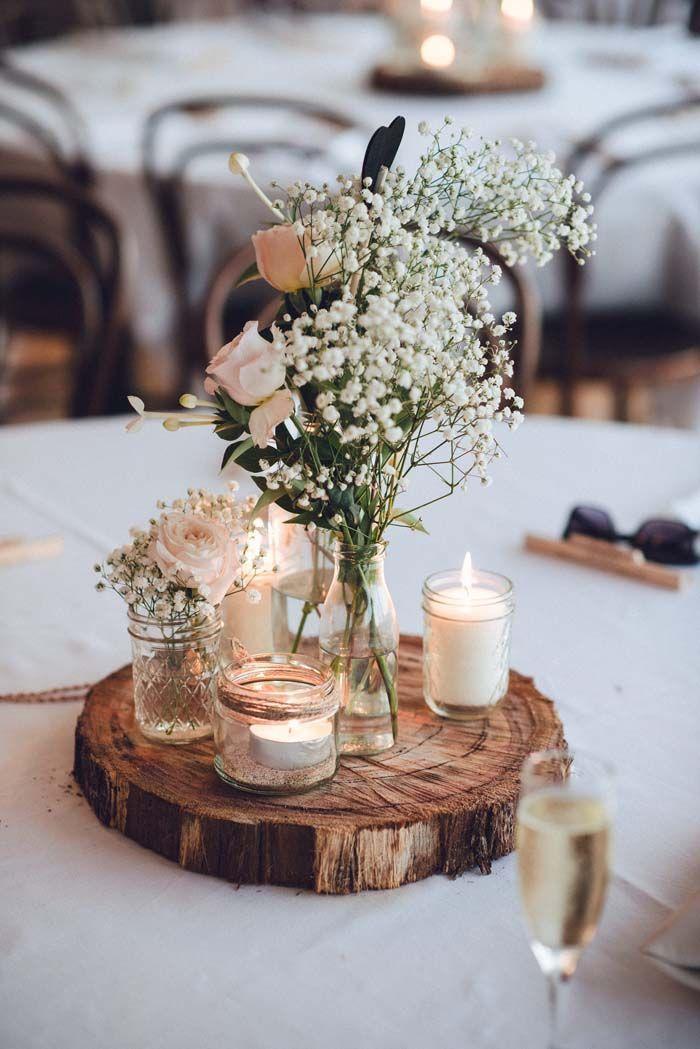 Décoration de table mariage centre de table mariage décoration salle de mariage