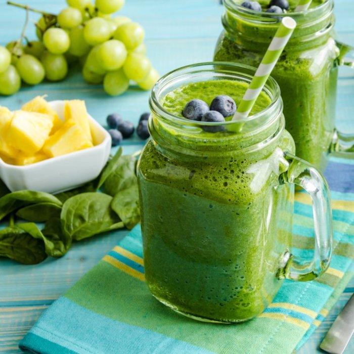 Thé detox maison eau detox recette infusion pour maigrir boissons saines smoothie vert chouette recette smoothie