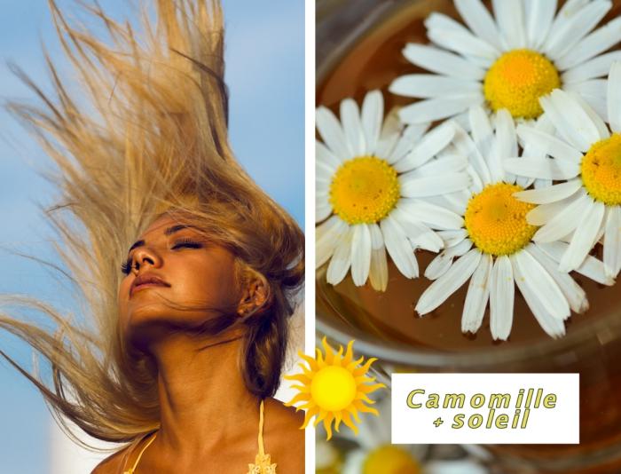quels produits naturels utiliser pour avoir couleur miel cheveux, maquillage aux lèvres marron avec faux cils