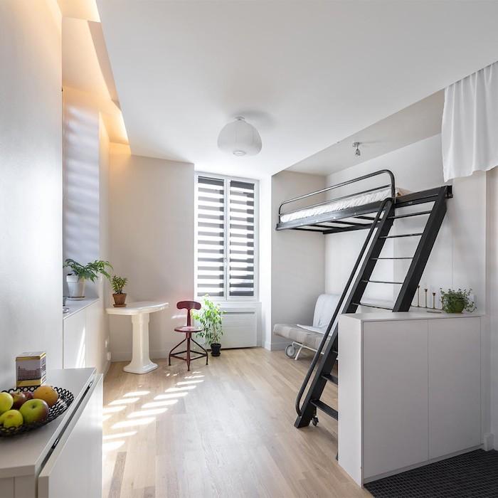 Appartement moderne idée déco studio aménagement studio 30m2 appartement étudiant