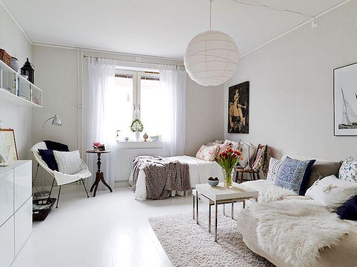 Idée déco appartement appartement design deco appartement chic studio mignonne déco