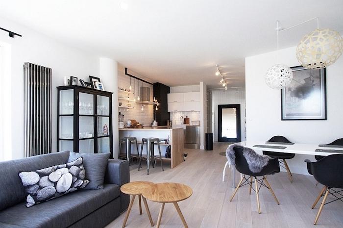 Amenager petit salon idee deco peinture salon bien aménagé cool idée cuisine et salon aménagement petit pièce pour tout