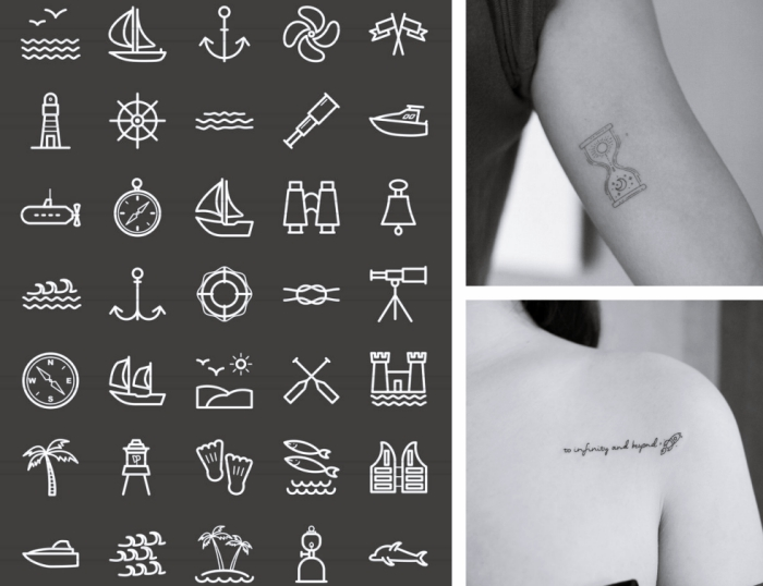 1001 Modeles Incroyables De Tatouage Discret
