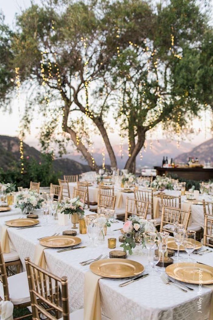 Mariage pas cher centre de table mariage deco salle mariage tables dehors mariage champetre jardin belle vue