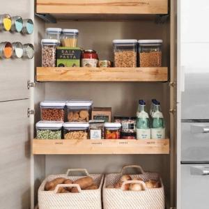 Un rangement placard cuisine gain de place. 84 solutions pour se simplifier la vie
