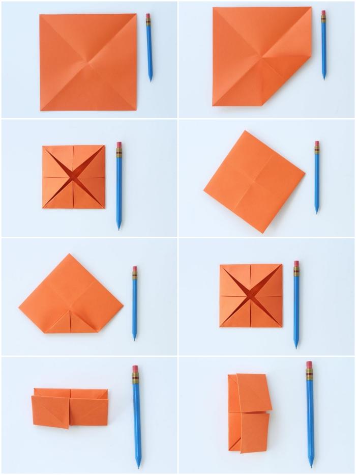 comment faire une cocotte en papier en suivant les expliacations étape par étape de ce tuto facile