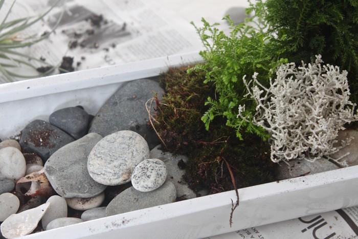 jardin chinois miniature zen pour décoration de table ou bureau design