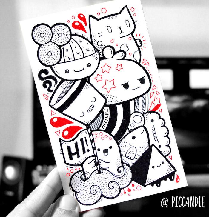 Animaux mignon dessin de chat mignon apprendre à dessiner kawaii