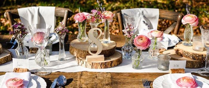 Pinterest mariage centre de table mariage les tables bien décorées comment décorer la table mariage