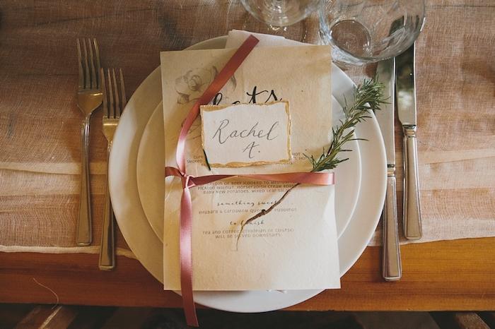 Menu de mariage centre de table mariage comment décorer une salle de mariage