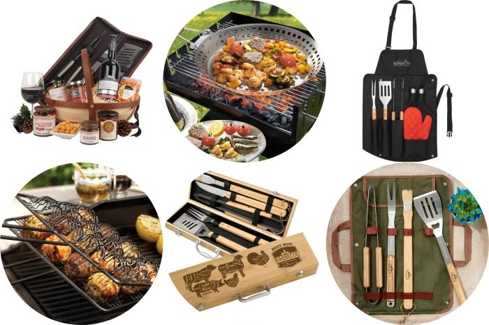 cadeau fete des peres personnalisé pour les fans de barbecue, accessoires et ustensiles de grille et barbecue