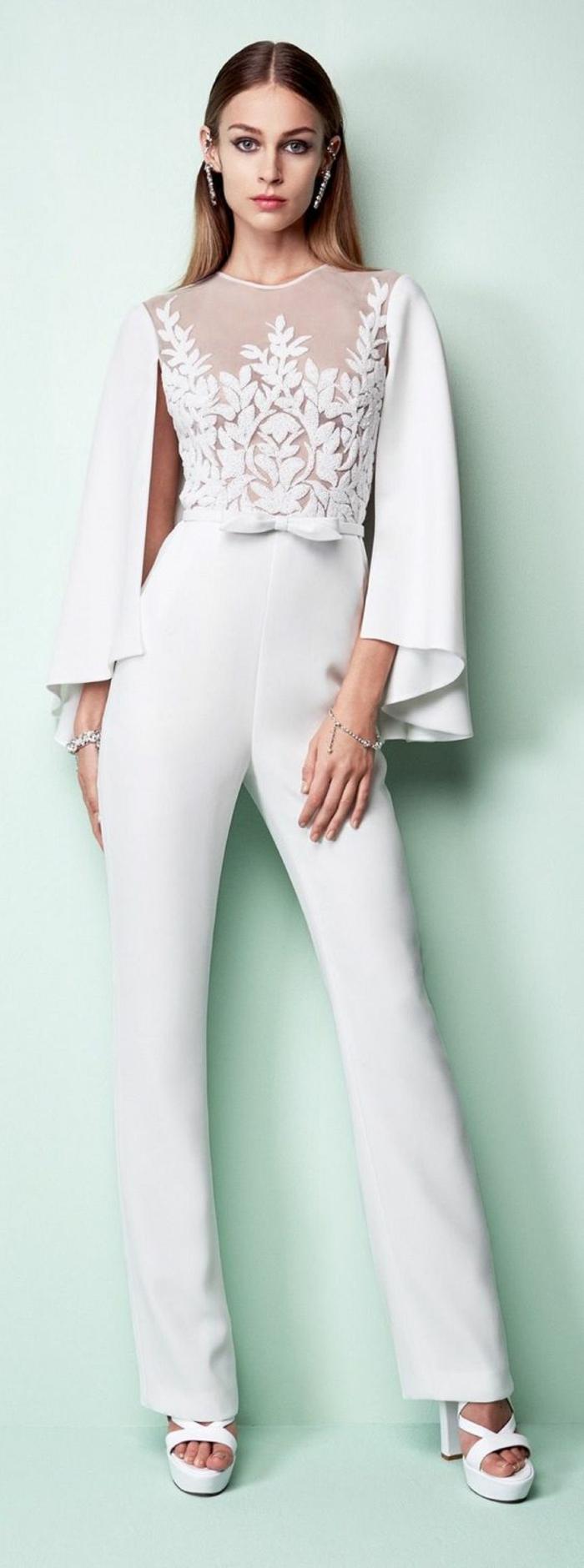 tailleur pantalon femme chic pour mariage pour la mari e et pour l invit e 86 mod les obsigen. Black Bedroom Furniture Sets. Home Design Ideas