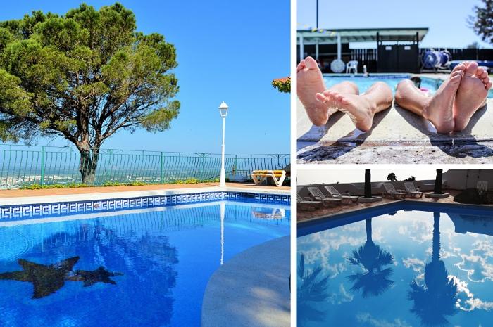 allianz assurance pour votre piscine extérieure enterrée ou semi-enterrée, idée de déco extérieure avec bassin