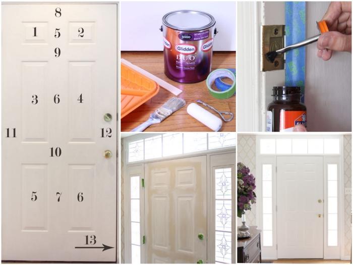 comment peindre une porte en bois sans la dégonder, les astuces pratiques pour donner un coup de neuf à une porte d'entée