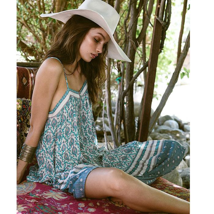 Adorable robe longue ete femme tendances actuelles magnifique idee stylée robe été bohème chic style