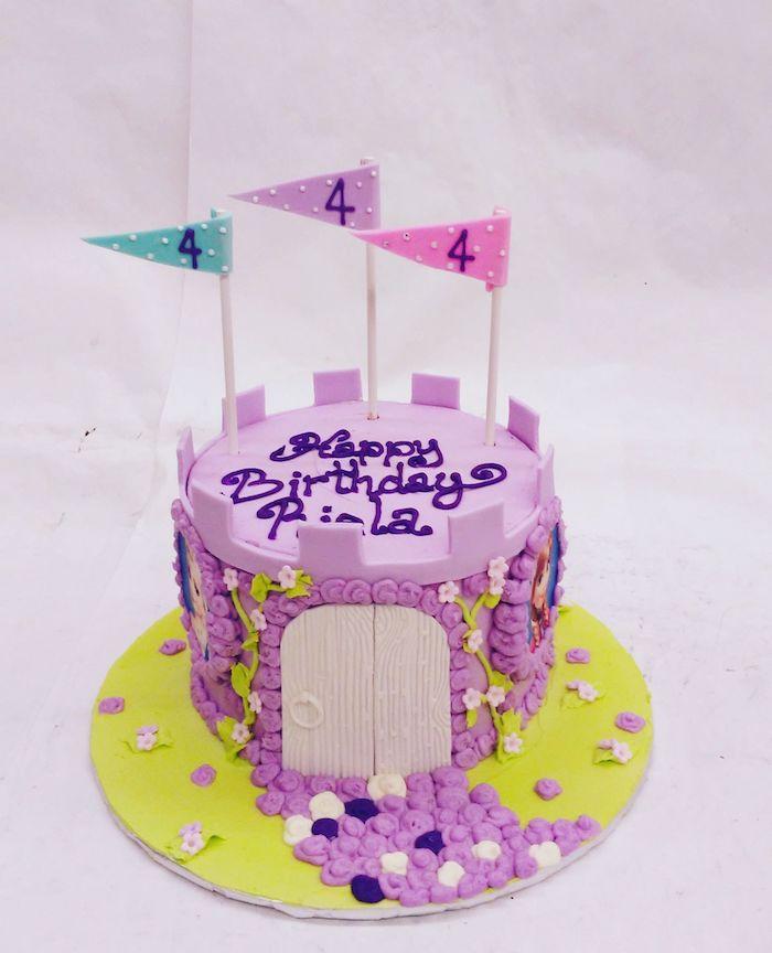Gateau anniversaire fille ou garçon qui aime la reine des neiges chateau gateau rapide gâteau pour enfant fruits gourmands