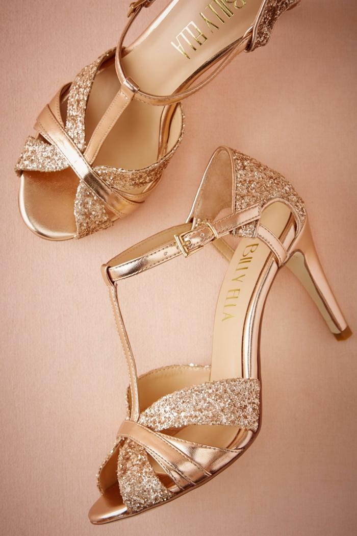 1001 id es pour une chaussure femme pour mariage les ornements. Black Bedroom Furniture Sets. Home Design Ideas