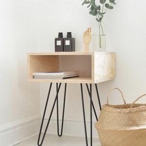 Bricolez une table de chevet originale - plusieurs idées pratiques