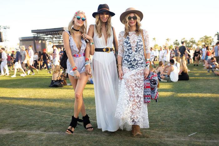 Robe longue fendue robe longue fleurie robe légère été s habiller bien chaque jour tenue coachella robe pour festival de musique