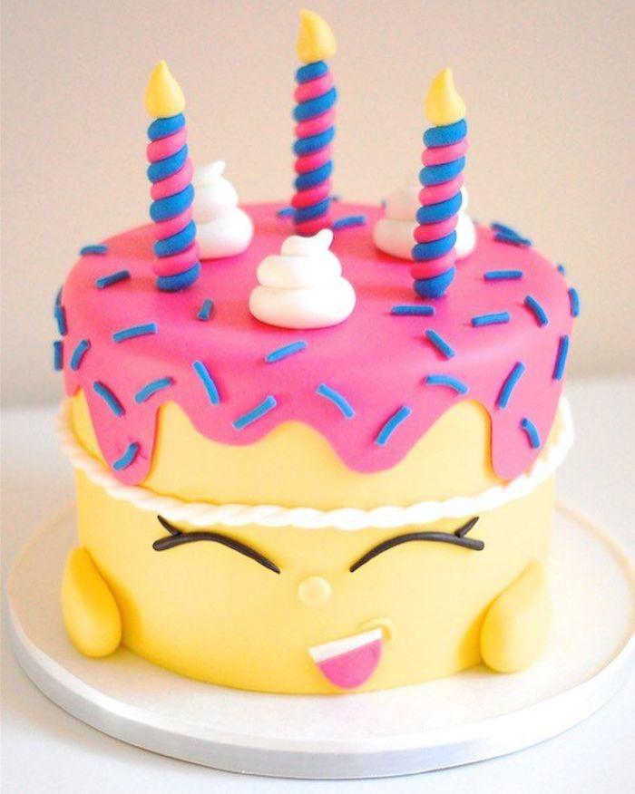Idée trop mignonne de gâteau style kawaii original recette gateau anniversaire cake enfant simple et original