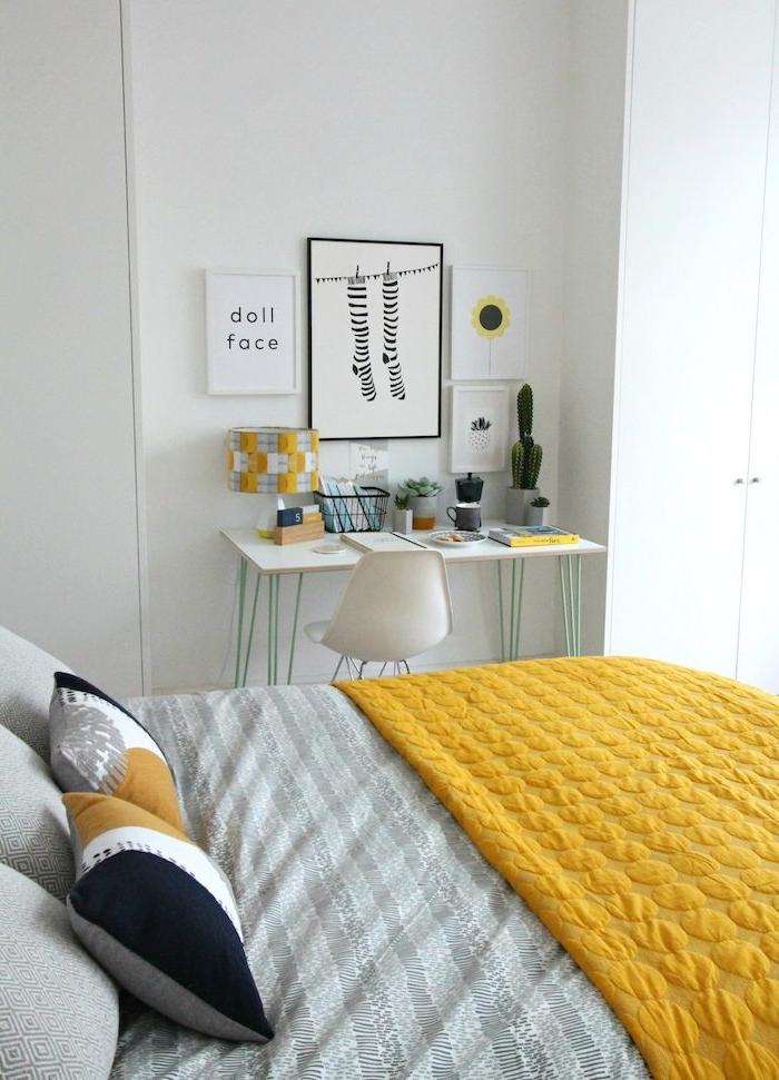 1001 photos et id es pour trouver la couleur id ale pour chambre adulte - Peut on coucher un refrigerateur pour le transporter ...