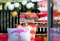 Déco flamant rose: c'est exotique et c'est cool!