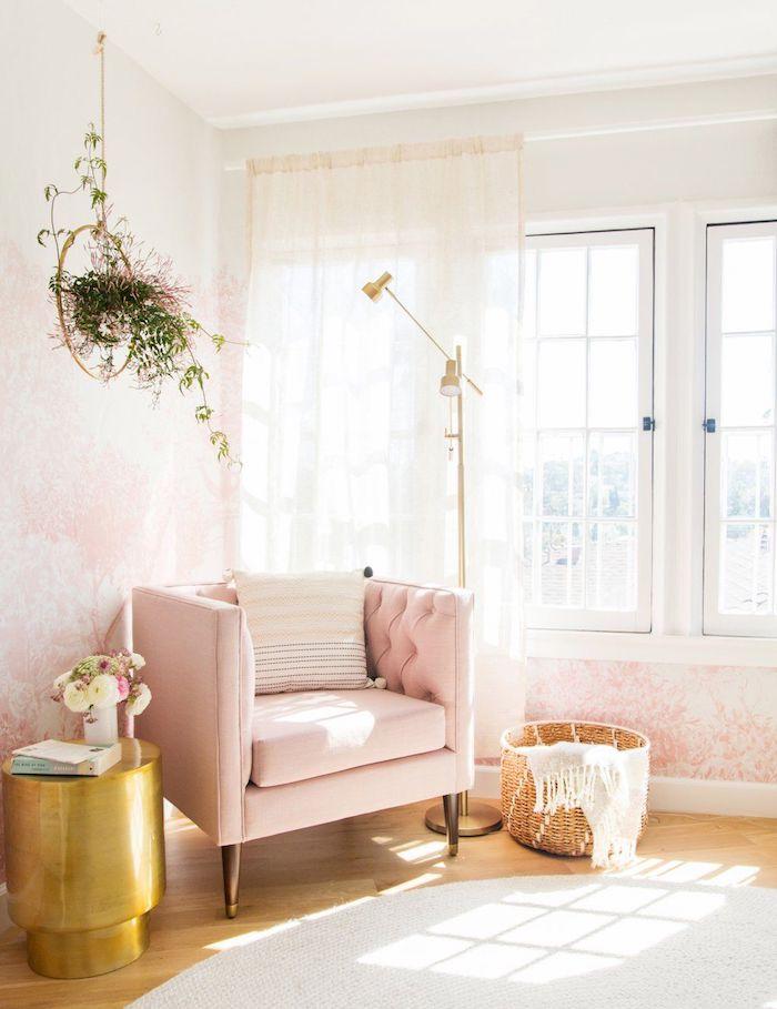 La plus belle chambre du monde chambre gris et rose chambre rose et gris adulte coin de lecture trop mignon
