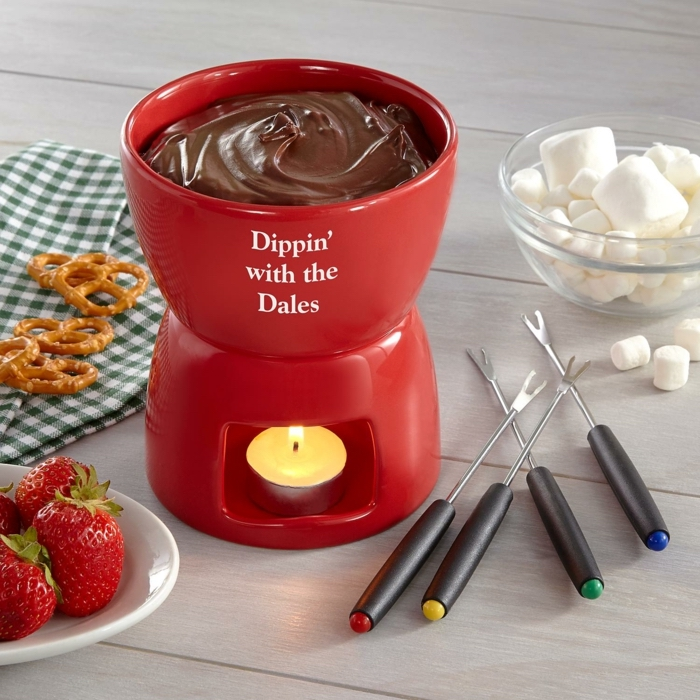 Magnifique dée cadeau homme 40 ans idée cadeau 25 ans exemple de bon cadeau personnalisé marshmallow et chocolat fondu