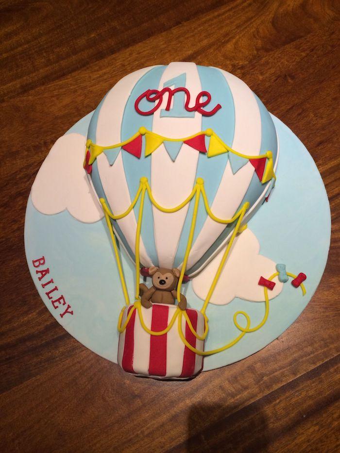 Gateau anniversaire 2 ans dessert facile et rapide le plus beau gâteau du monde ballon pour la premier année