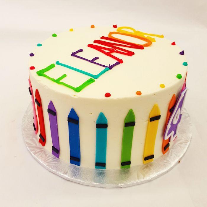 Cool idée comment préparer un gâteau pour enfant grand occasion spéciale crayons enfant qui aime peindre